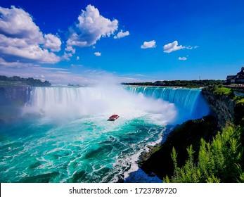 Niagara falls canadian side taken with huawei p30 pro - Shutterstock ID 1723789720