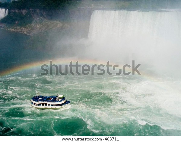 Niagara Falls cruise - Maid of the Mist