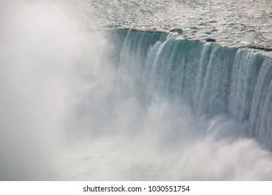 Niagara Falls during winter.