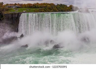 Niagara Falls in the fall.