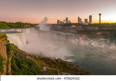 Niagara Falls looking from American side