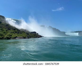 Niagara falls in New York