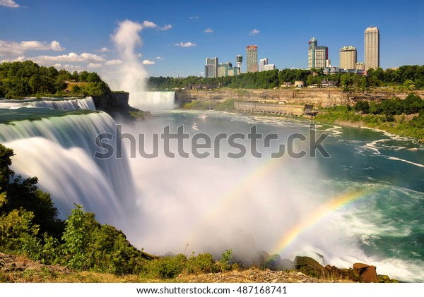 Niagara Falls New York June 29 Stock Photo Edit Now 487168741
