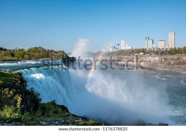 Niagara Falls New York Usa May Stock Photo Edit Now 1176378820