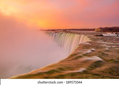 Niagara Falls on a beautiful morning