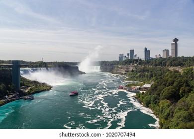Niagara Falls in Ontario (Canada)
