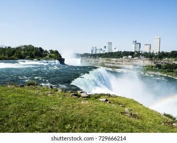 Niagara Falls summer day -  New York, USA