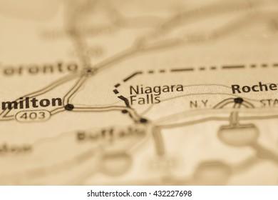 Niagara Falls. USA