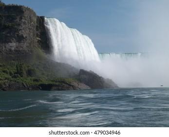 Niagara falls, USA Canada border