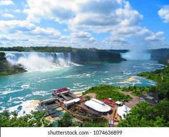 Niagara Falls wide view