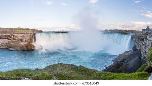 Niagara Falls/Niagara Falls taken from the Canadian side.