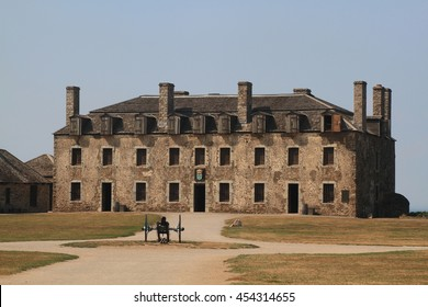 NIAGARA FORT, NY - MAY 30; Inside Fortress of Niagara Fort State Park New York ?French Castle- will exhibits big military collections and memorabilia for celebration of Memorial Day May 30 2016