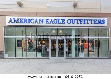 Niagara On The Lake Canada March 4 2018 American Eagle Outfitters Storefront