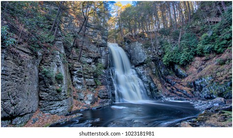 """The """"Niagara of Pennsylvania,"""" Bushkill Falls is among the Keystone State's most famous scenic attractions."""