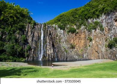 Niagara waterfalls, Reunion island, France