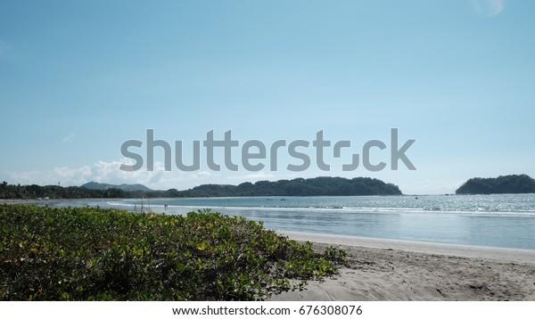 Nicaragua Paradise Beach Vacation Tourist Destination Stock Photo Edit Now 676308076