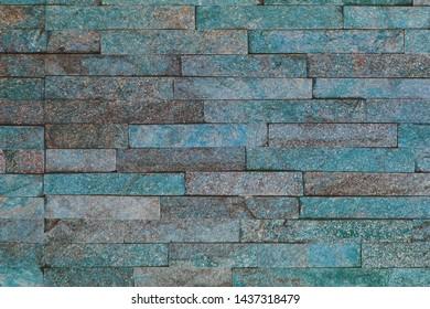 nice aged natural quartzite stone bricks texture for any purposes.