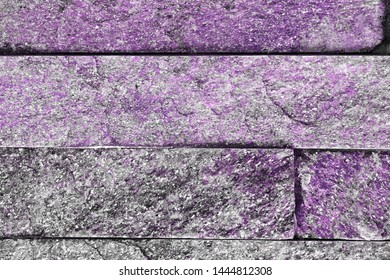nice aged natural quartzite stone bricks texture for background use.