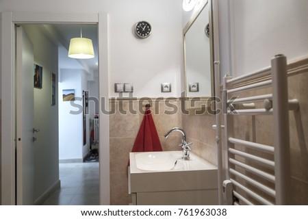 Nice Bathroom Tworoom Apartment Toilet Stock Photo Edit Now - Nice-apartment-bathrooms