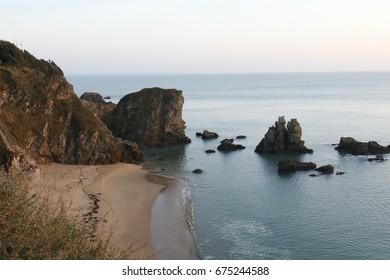 nice beach of Pornichet