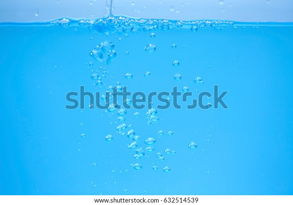 Nice blue water close up photo