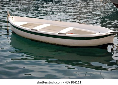Nice Boat Floating On Calm Water Stock Photo Edit Now 489184111