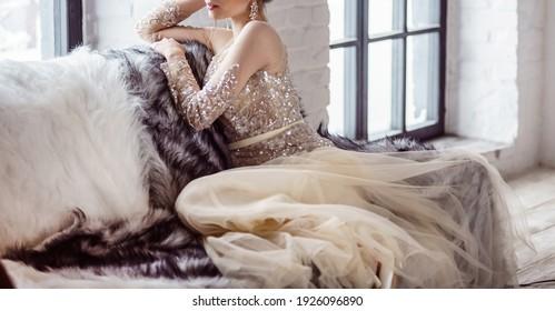 nice bride in the loft
