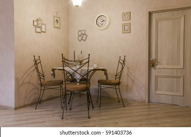 Nice classic kitchen with dining table