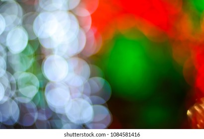Nice colorful bokeh light, Defocus bokeh light background