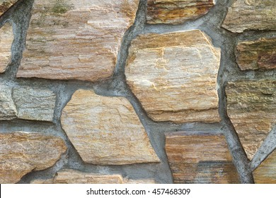 Nice colorful stone wall background