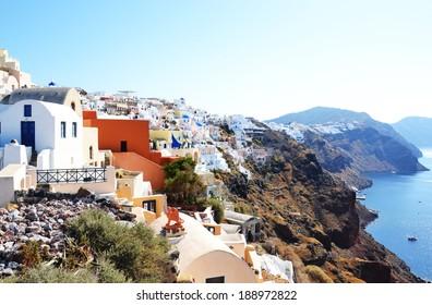 nice day on Santorini/Santorini/Greece