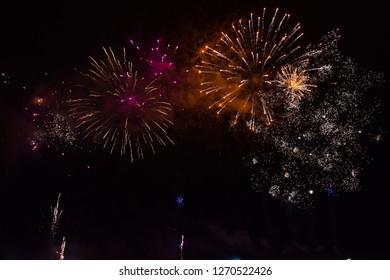 a nice firework
