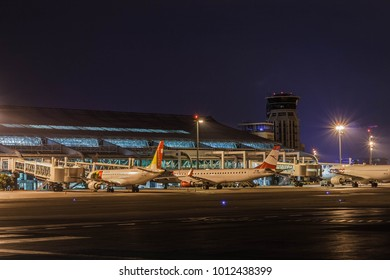 Airport Night Stock Photos Images Photography