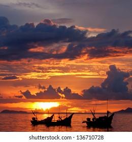 nice landscape of ko samui thailand.