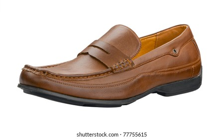 A nice leather man shoe