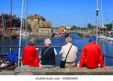Nice little port in Honfleur France