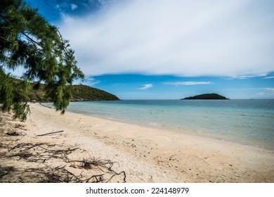 Nice lonely beach. Just beautiful place on Samae San, Sattahip, Thailand.