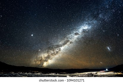 NIce Milky Way, seen from the desert of northern Chile. Cerro Paranal.