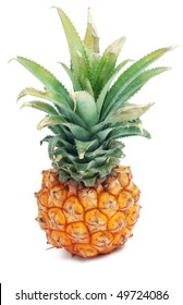 Nice pineapple isolated on white