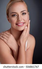 nice portrait beautiful maturity woman 260nw 506861767