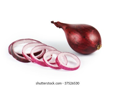 Nice red onion and some slices