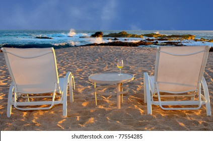 Nice relaxing Image of a vacation setting In mexico