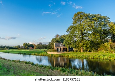 Nice scenery in the Dutch region Achterhoek, Netherlands