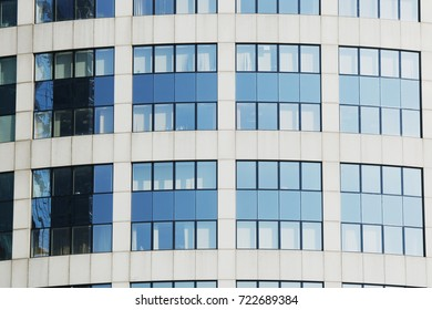 Nice shining office building exterior