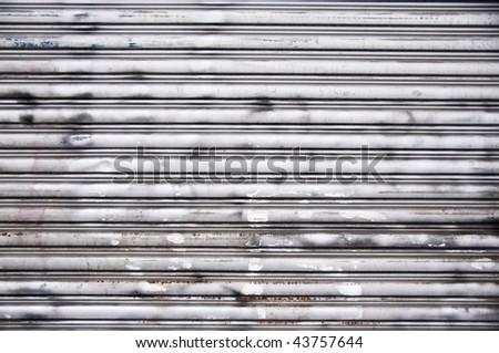 Nice Steel Garage Door Background Texture Stock Photo Edit Now