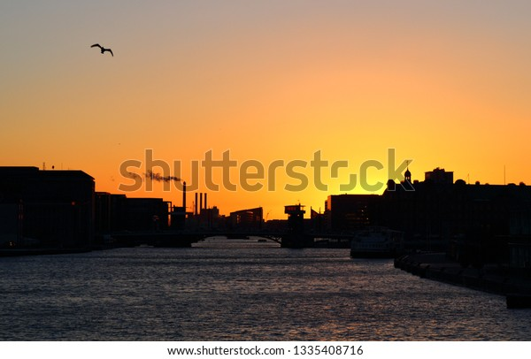 sunset copenhagen
