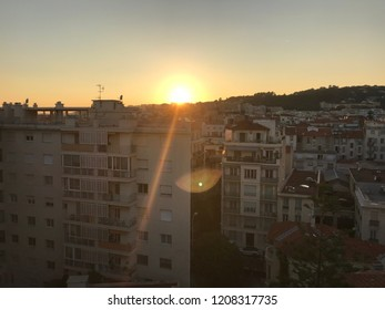 Nice  Sunset landscape