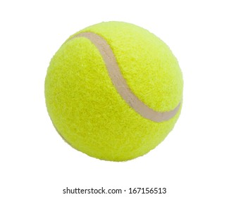 Nice Tennis ball isolated on white background