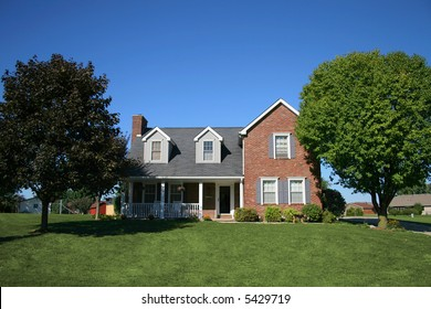 Nice two story brick home in suburb.