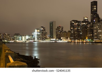 Nice view in new york city from Queensboro bridge